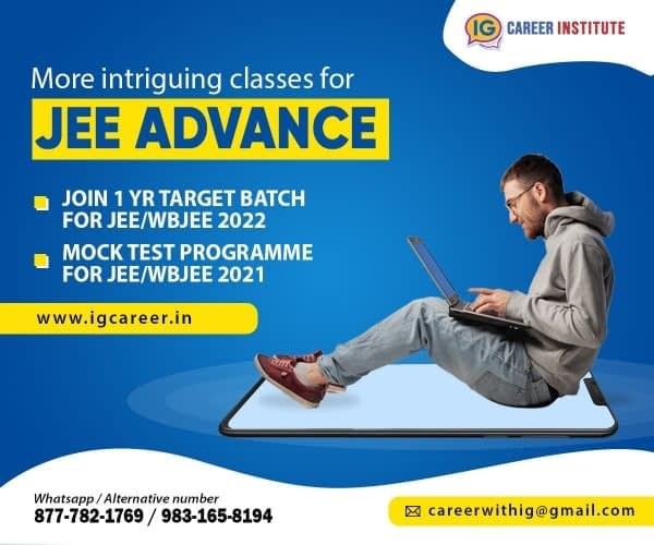 JEE advanced Course Fees in India